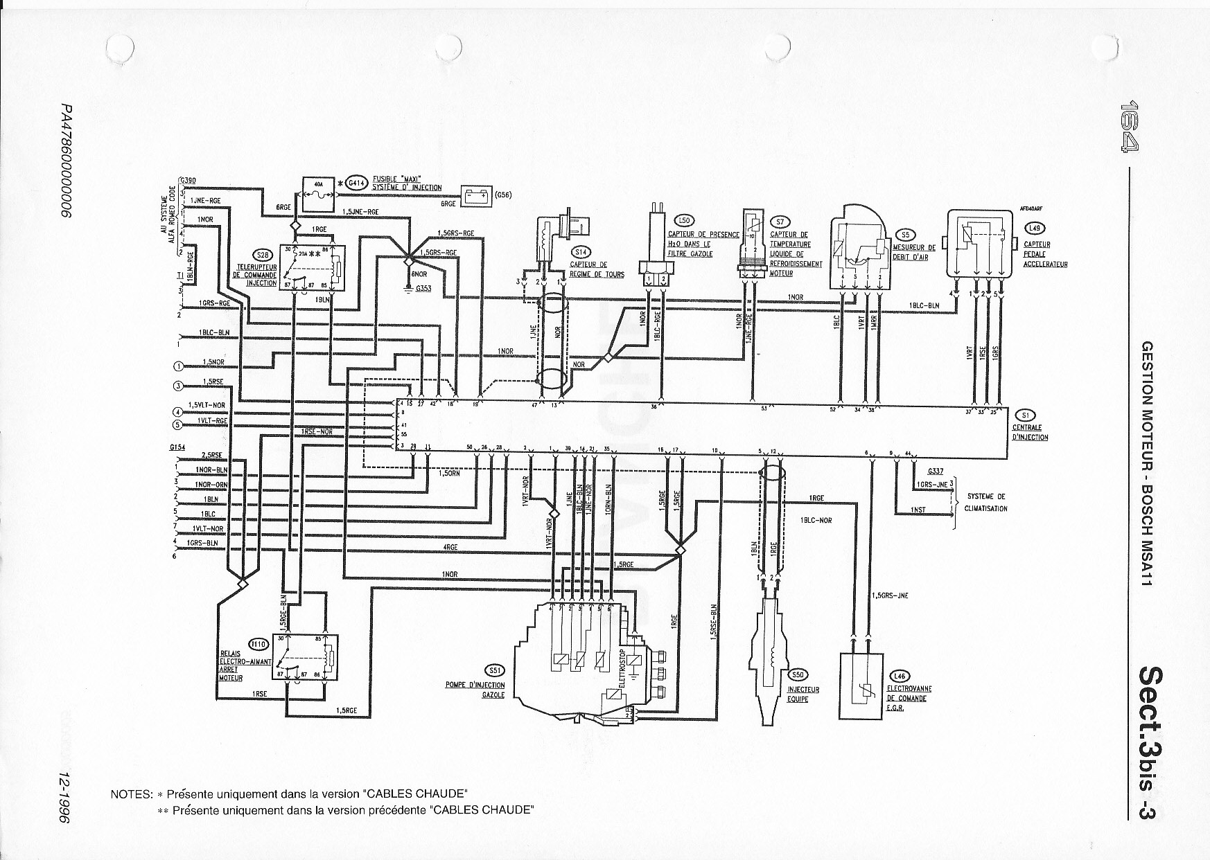 Alfa Romeo 164l Wiring Diagram Download Diagrams On Fuse Box Service Manual 1995 164 Transmission Grey Spider